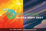 New Microgaming Slots September 2021