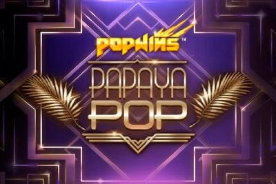 Papaya Pop Slot Logo