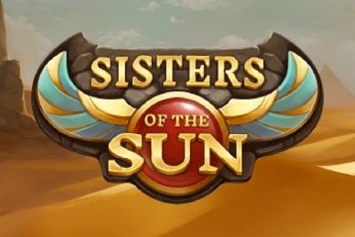 Sisters of the Sun Slot Logo
