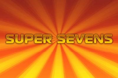 Super Sevens Slot Logo