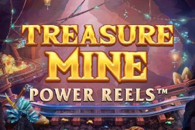 Treasure Mine Power Reels Slot Logo