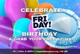 Casino Friday Free Spins Birthday