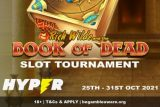 Enter The Hyper Casino Book of Dead Slot Tournament