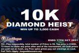 Leo Vegas Slot Tournament: 10K Diamond Heist