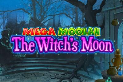 Mega Moolah The Witchs Moon Slot Logo