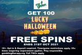 Get Your 100 Lucky Halloween Free Spins Bonus at Mr Green