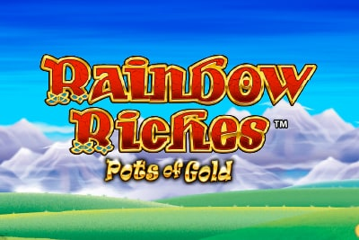 Rainbow Riches Pots of Gold Slot Logo