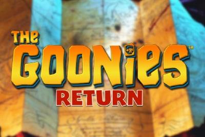 The Goonies Return Slot Logo