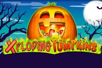 Xploding Pumpkins Slot Logo